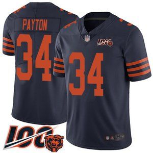 Mens Chicago Bears Walter Payton 100th Jersey